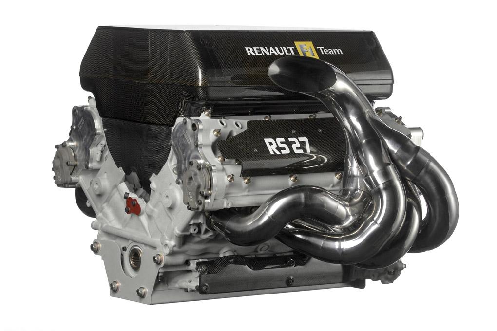 Motor Renault RS27 utilizado en 2010