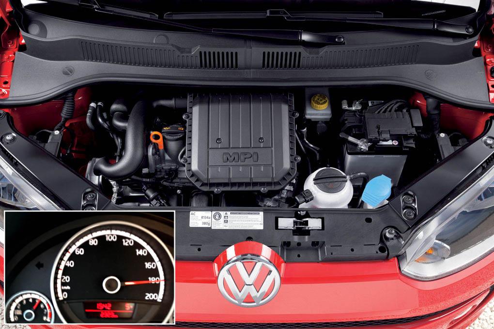 Motor y velocidad punta VW Up