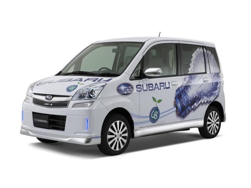 Subaru Plug-in Stella, primicia europea en Ginebra