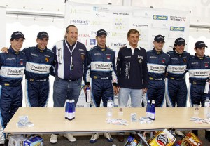 Jorge Dorribo y Luis Moya en el equipo Nupel