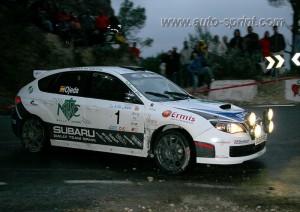 Ojeda en Rallye Alicante 2009