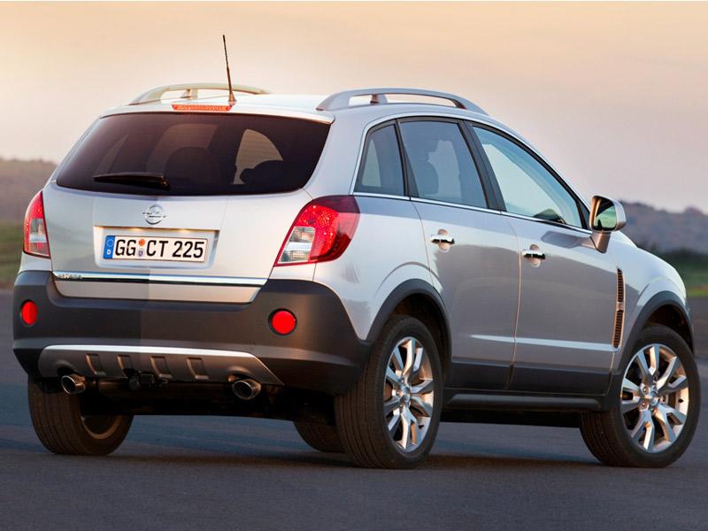 Opel Antara 2011 lateral trasera