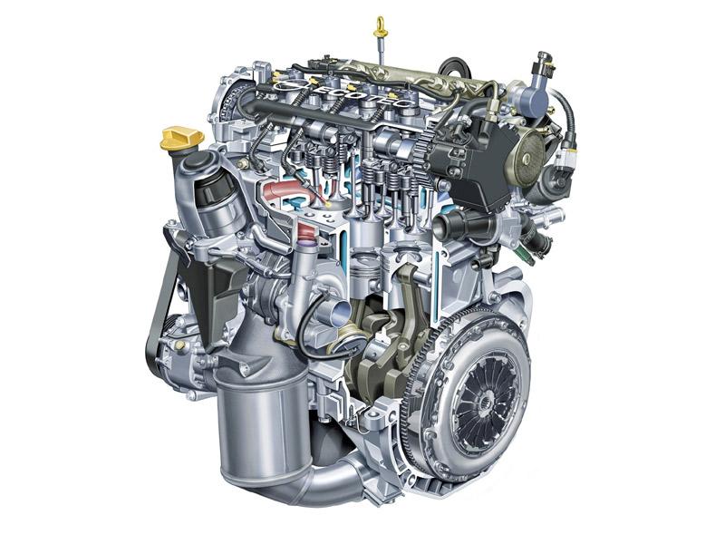 Motor Opel Corsa Ecoflex 2010