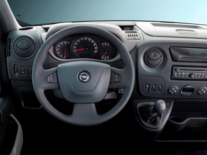 Interior Opel Movano 2010