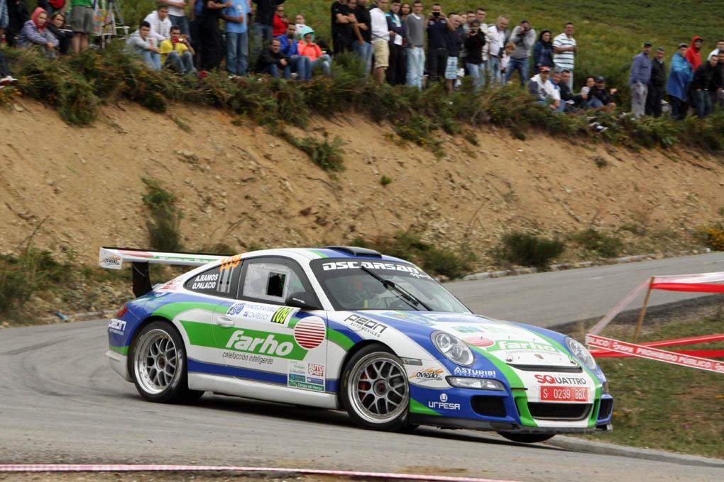 Oscar Palacio, Rallye Ppe. Asturias 2013