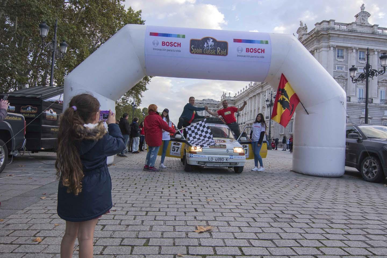 Renault Super 5 en el Spain Classic Raid