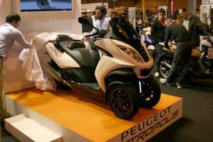 Presentacion Peugeot Salon de la Moto de Madrid