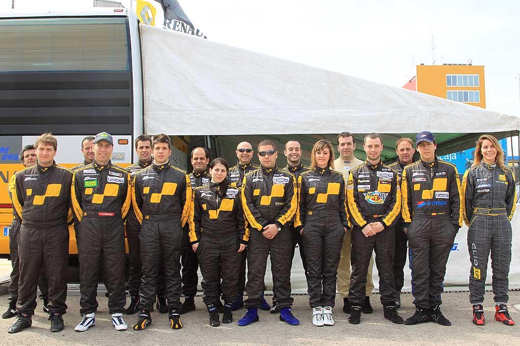 Pilotos de la Clio Cup 2011