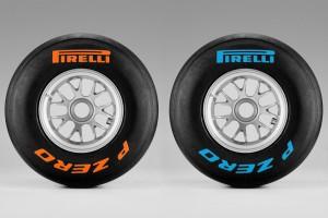 Neumáticos F1 por colores
