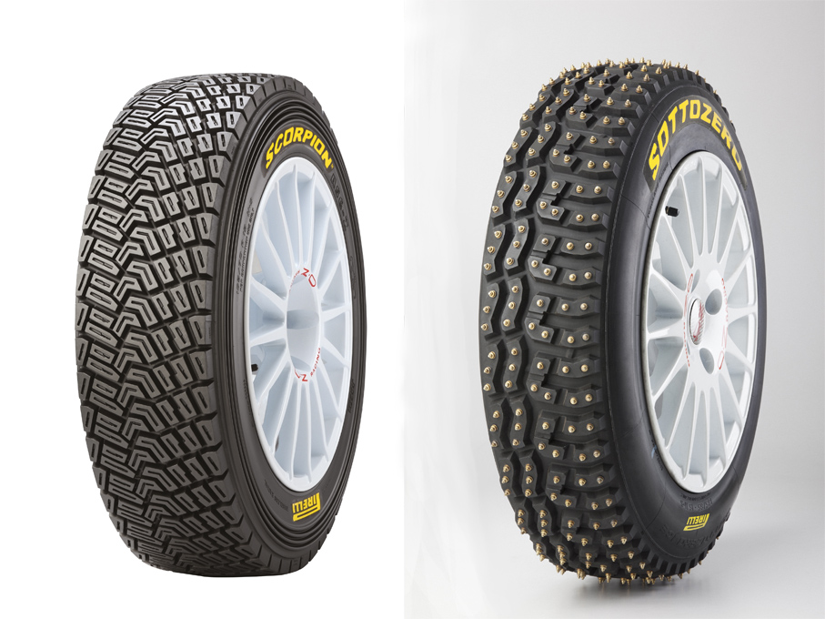 Los neumáticos Pirelli en el WRC desde 2021