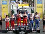 podium rallye catalunya 2009