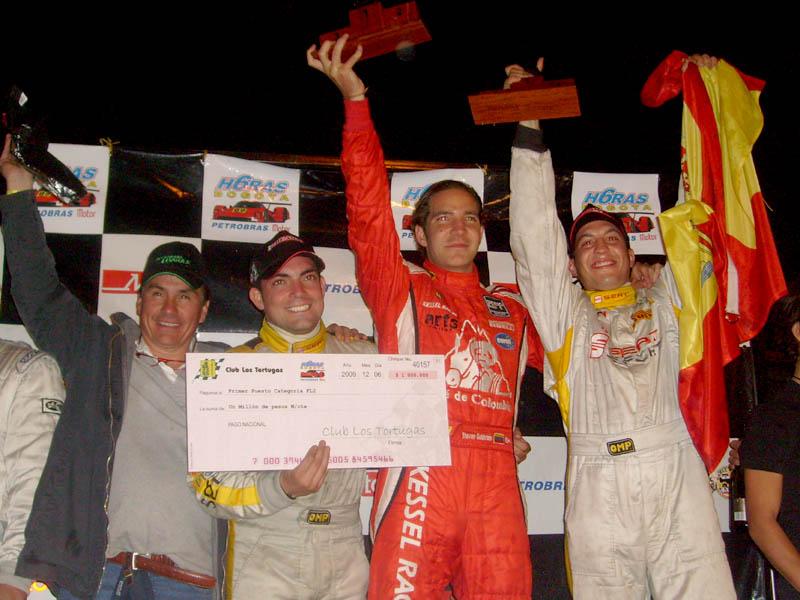Mauricio González, Antonio De La Reina, Steven Goldstein y Fernando Navarrete.