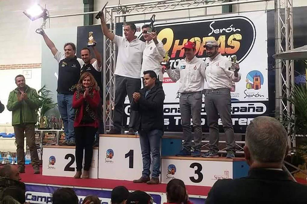 Podium Rallye Seron 2015
