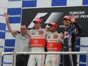 Podium Turquia 2010