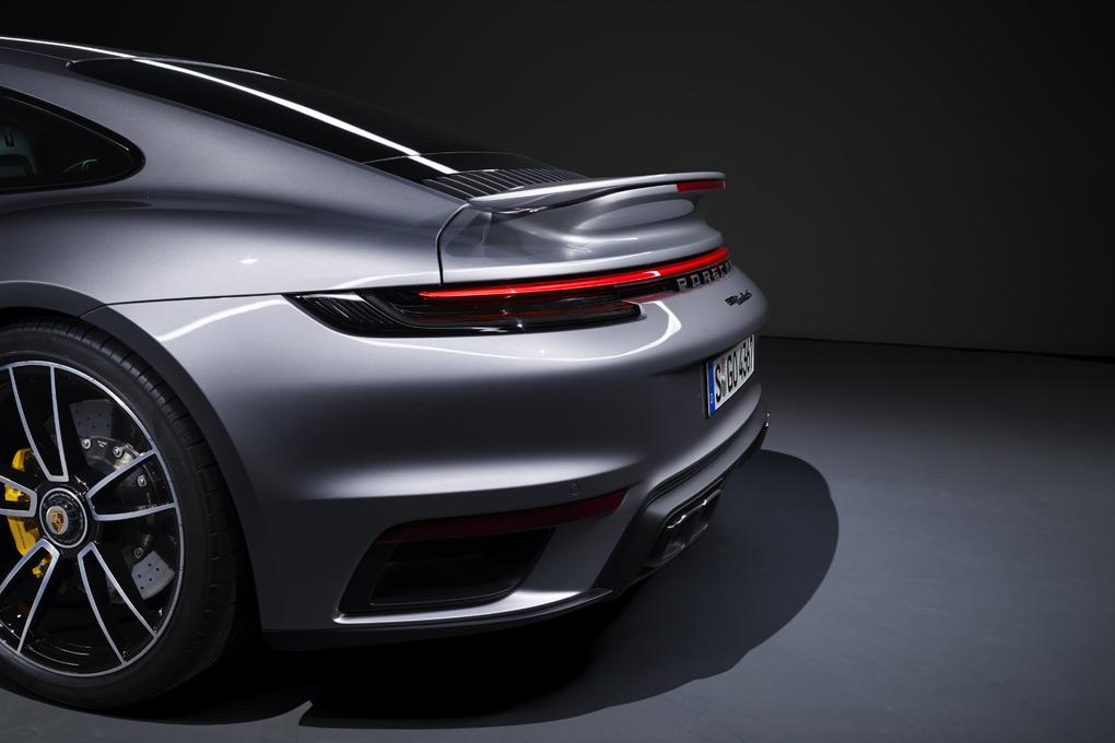 Vista trasera del nuevo Porsche 911