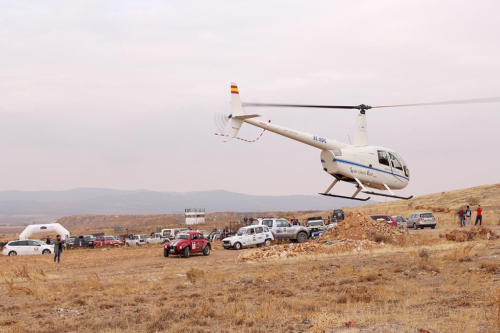 Helicóptero en Consuegra