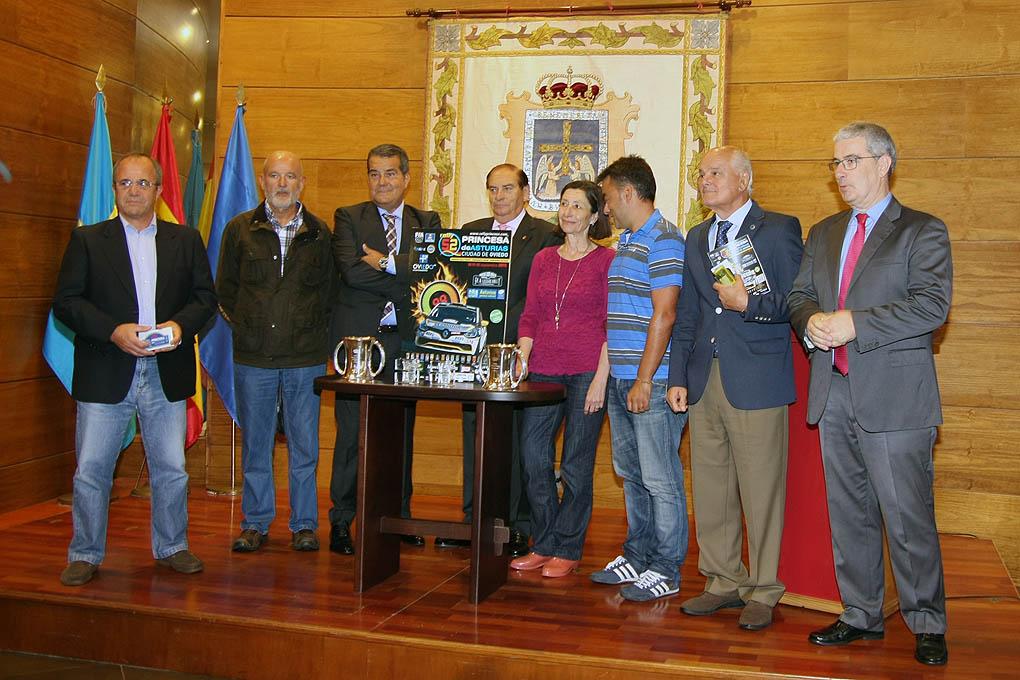 Presentación Rallye en Oviedo 2015