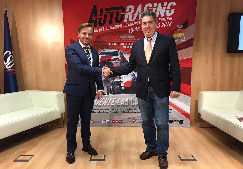 Presentación de la feria Auto Racing