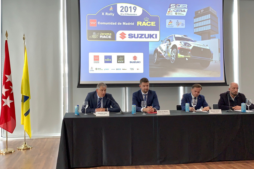 Presentacion Rally Madrid 2019