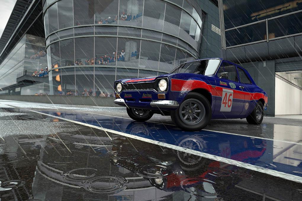 Coches clásicos en el juego Project CARS