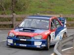 Ander Vilariño con su Subaru Impreza WRC