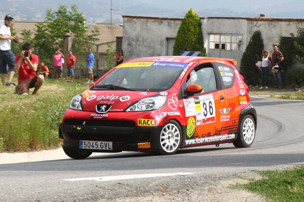 Rally Osona 2011 Volante RACC