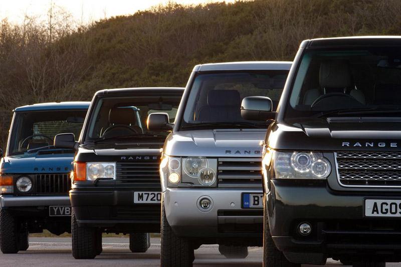 Evolución histórica Range Rover