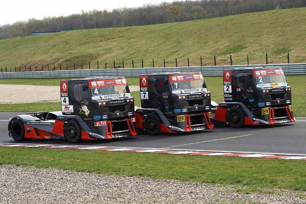 Equipo Renault Camiones 2011