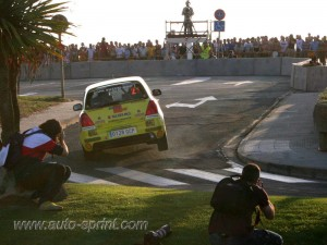 Rallye Rias Bajas Angel Romo