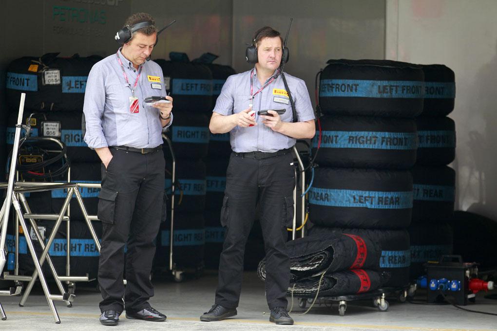 Ruedas Pirelli F1