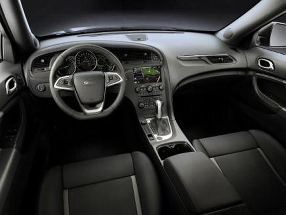 Interior Saab 9-4X
