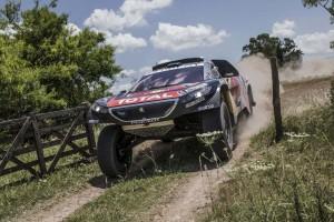 Sainz en la etapa prólogo Dakar 2016