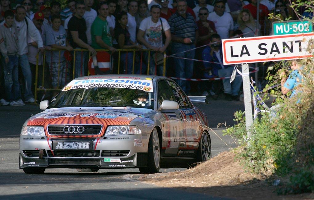 Audi A4 de Aznar en la Subida a la Santa de Totana 2011