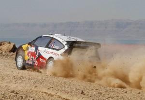 Sebastien Loeb rallye Jordania 2010