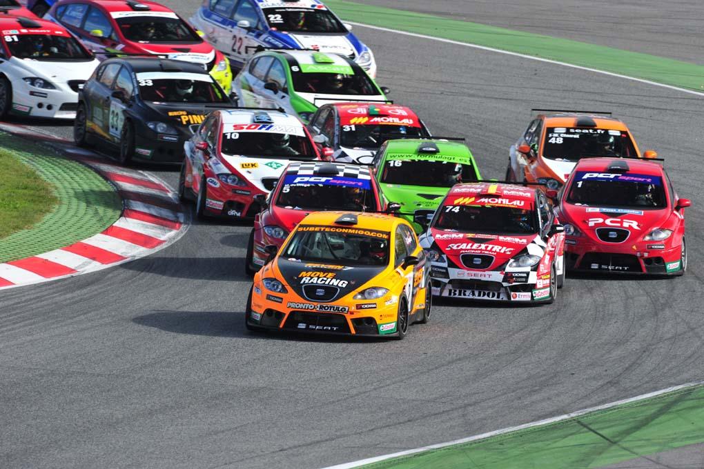 Seat Leon circuito Montmelo 2010