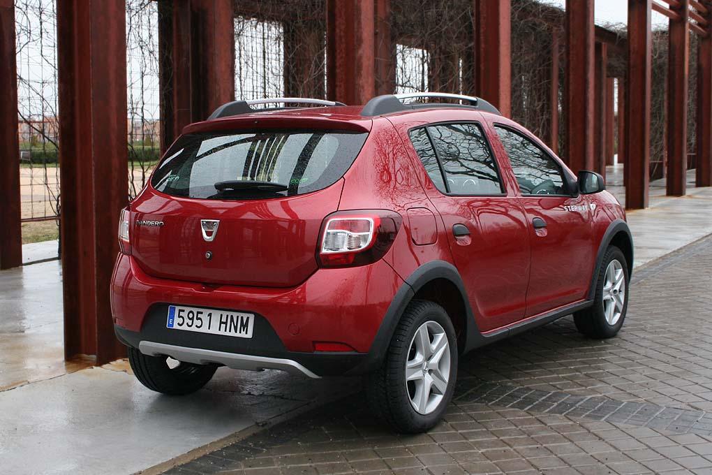 Trasera Dacia Sandero Stepway