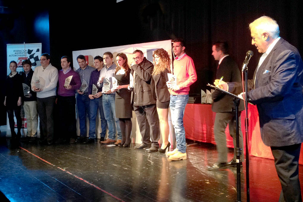 Entrega de premios 2014 Campeonato madrileño Montaña