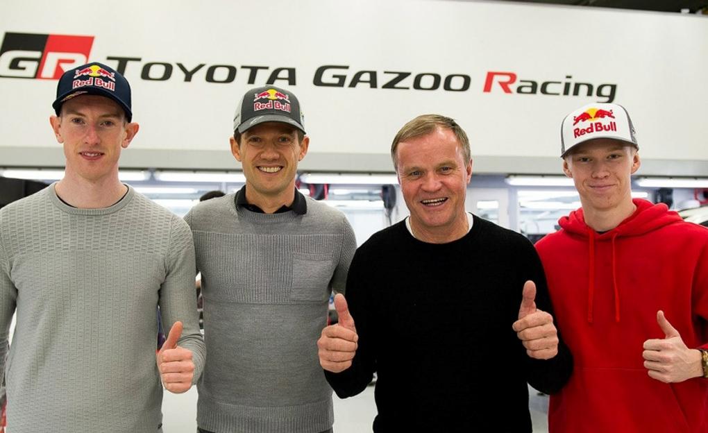 Pilotos de Toyota en el WRC 2020