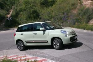 Prueba Fiat 500 L