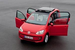 5 puertas para el VW Up