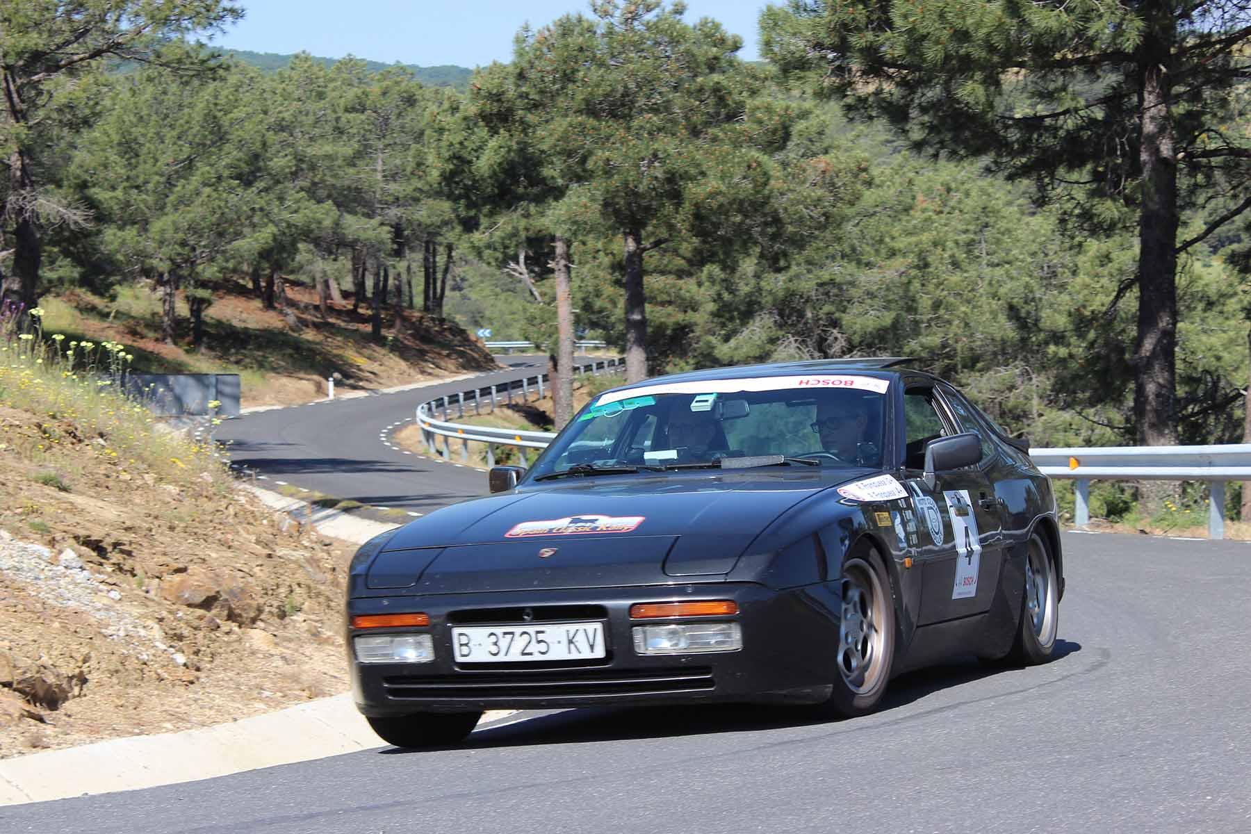 Los vencedores del III Spain Classic Rally