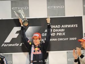 Sebastian Vettel Abu Dhabi 2009