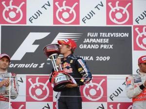 Vettel Podium Japon 2009