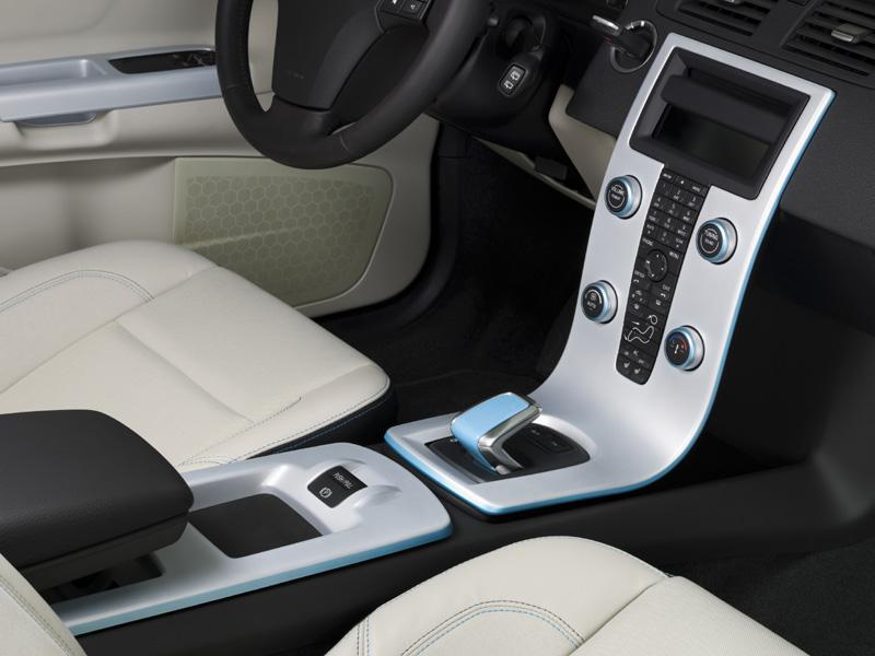 Interior Volvo C30 eléctrico