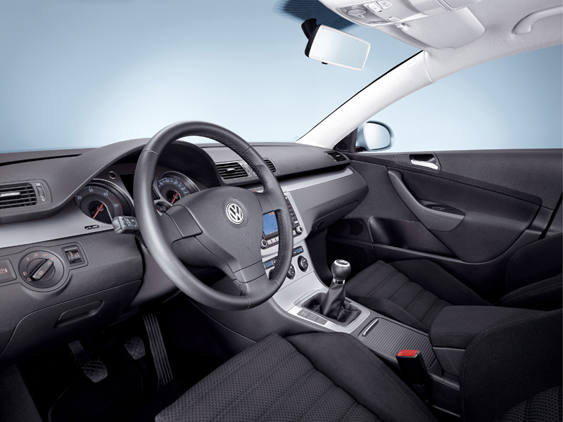 VW Passat Rline interior
