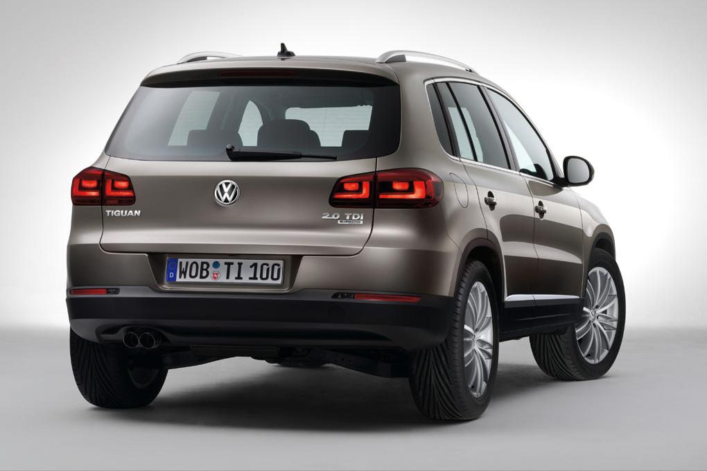 VW Tiguan 2011 trasera