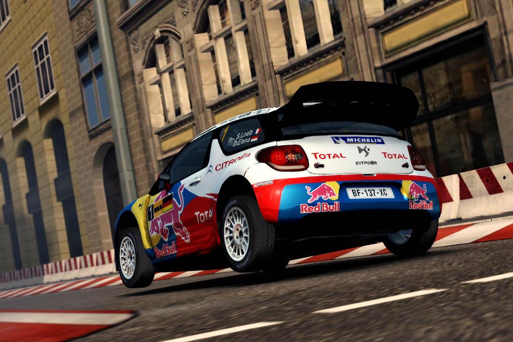 juego WRC2, Loeb con Citroen DS3 WRC