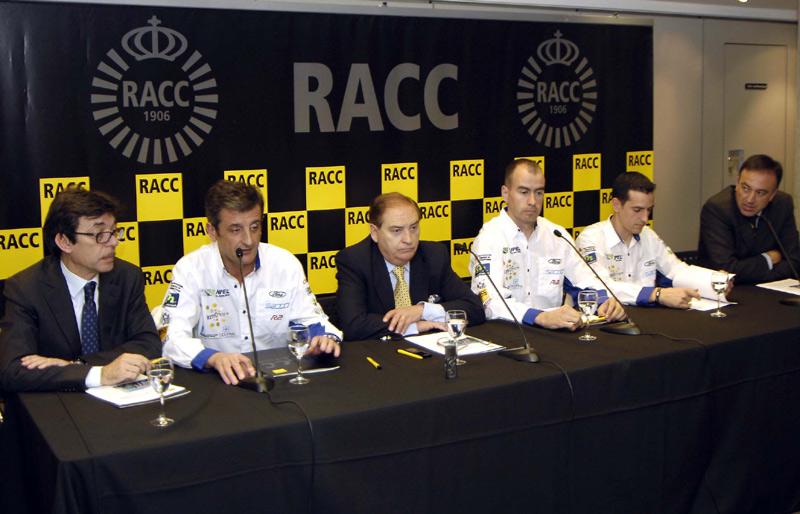 Xevi Pons y Luis Moya en rueda de prensa