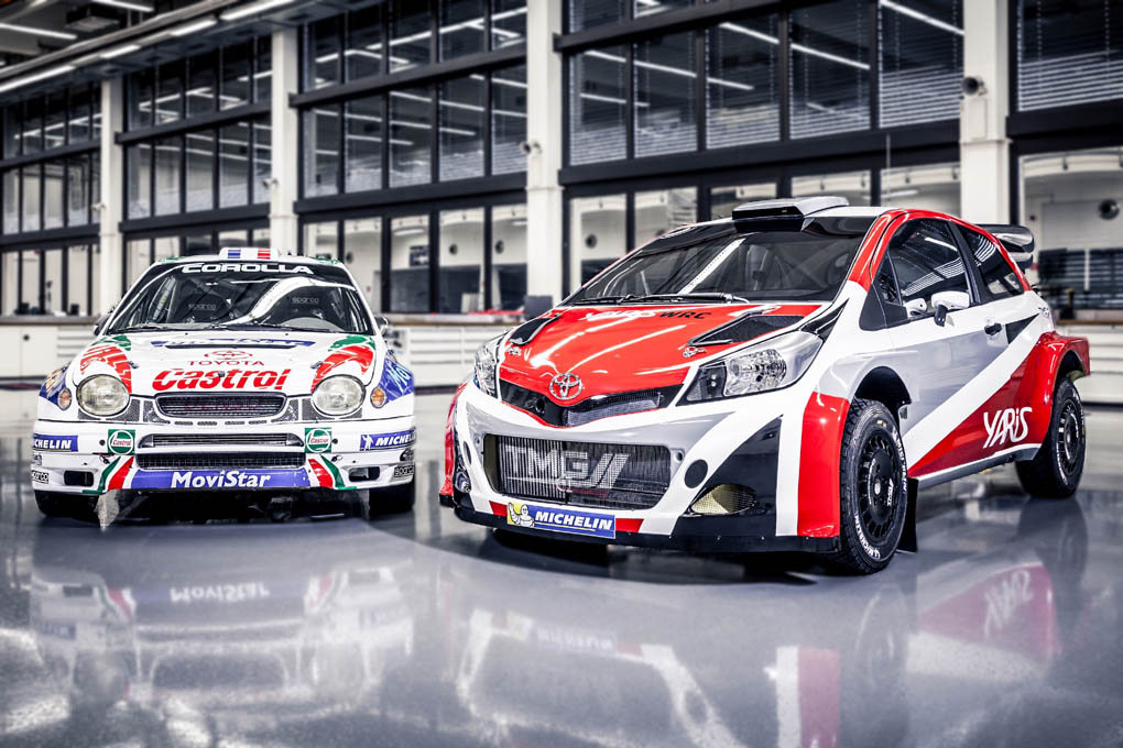 Toyota Corolla y Yaris WRC