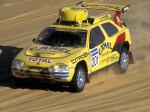 El ZX en el Paris-Dakar de 1991 pilotado por Vatanen